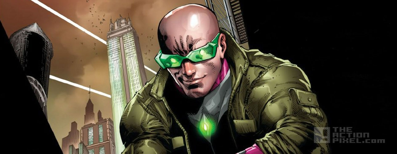 lex luthor post convergence. dc comics. the action pixel. @theactionpixel