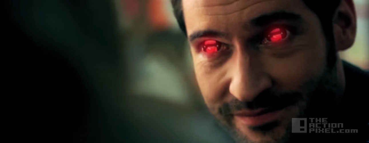 lucifer trailer. fox, dc comics, vertigo. the action pixel. @theactionpixel
