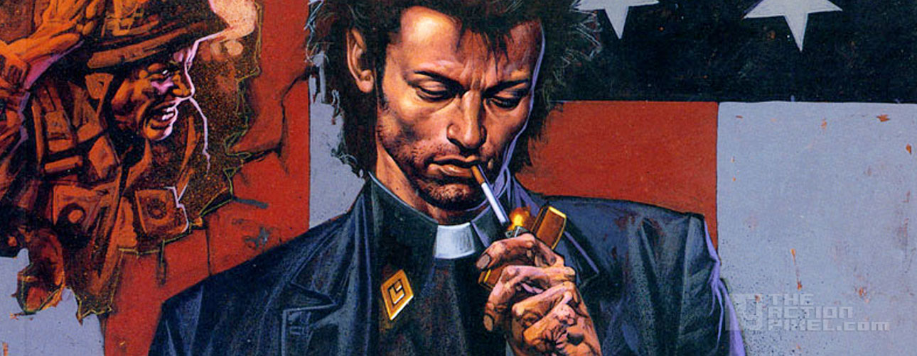 preacher. vertigo, dc comics. the action pixel. @theactionpixel
