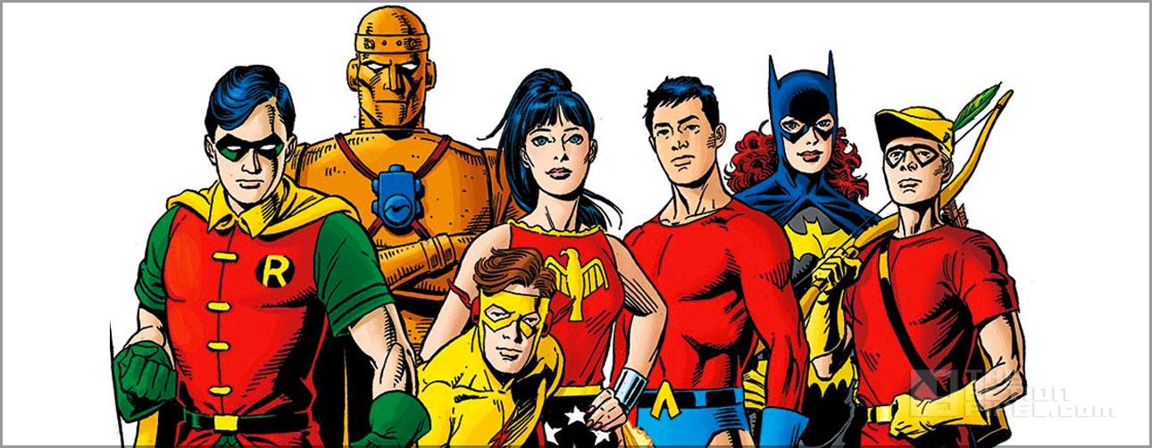 teen titans. dc comics. the action pixel. @theactionpixel