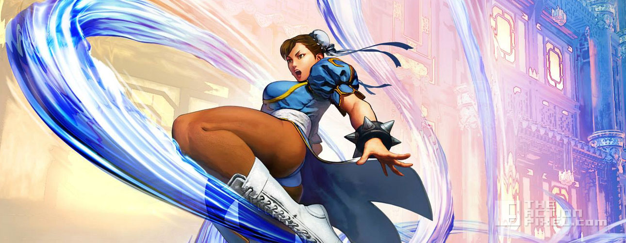 street fighter v. chun li. capcom. the action pixel. @theactionpixel