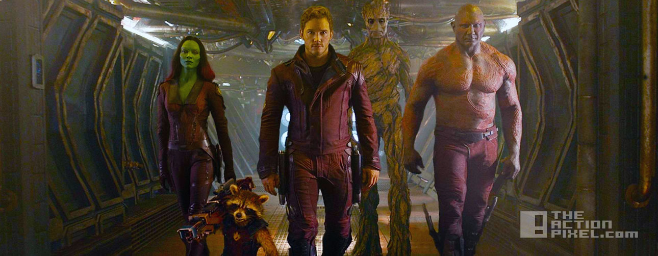 guardians of the galaxy. the action pixel. marvel. @theactionpixel