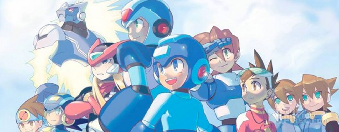 megaman. Dentsu Entertainment USA , Man of Action Entertainment. capcom. the action pixel. @theactionpixel