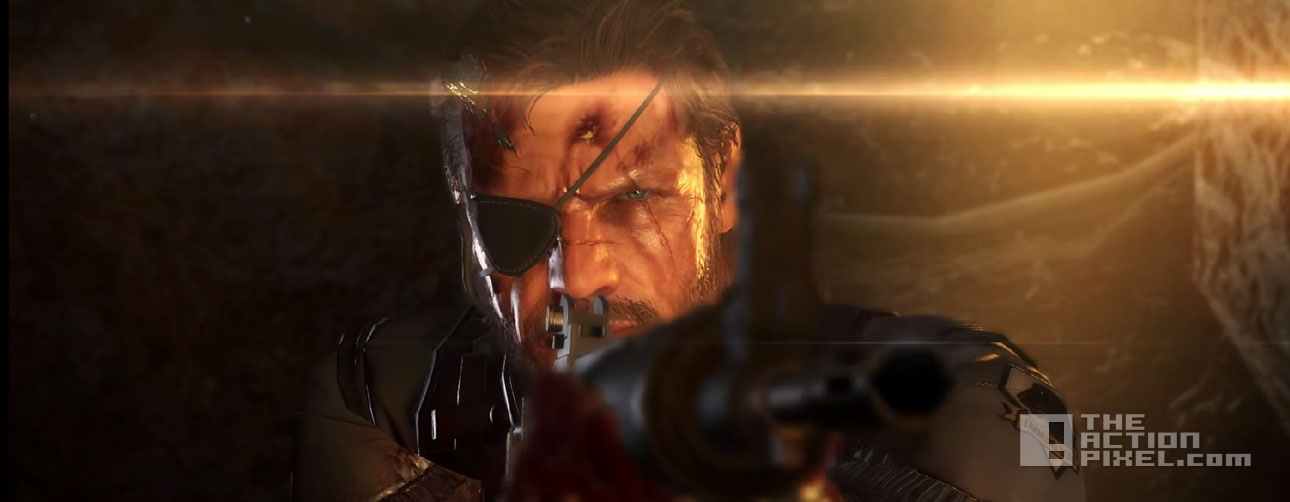 mgsv: phantom pain. konami. Theactionpixel @theactionpixel