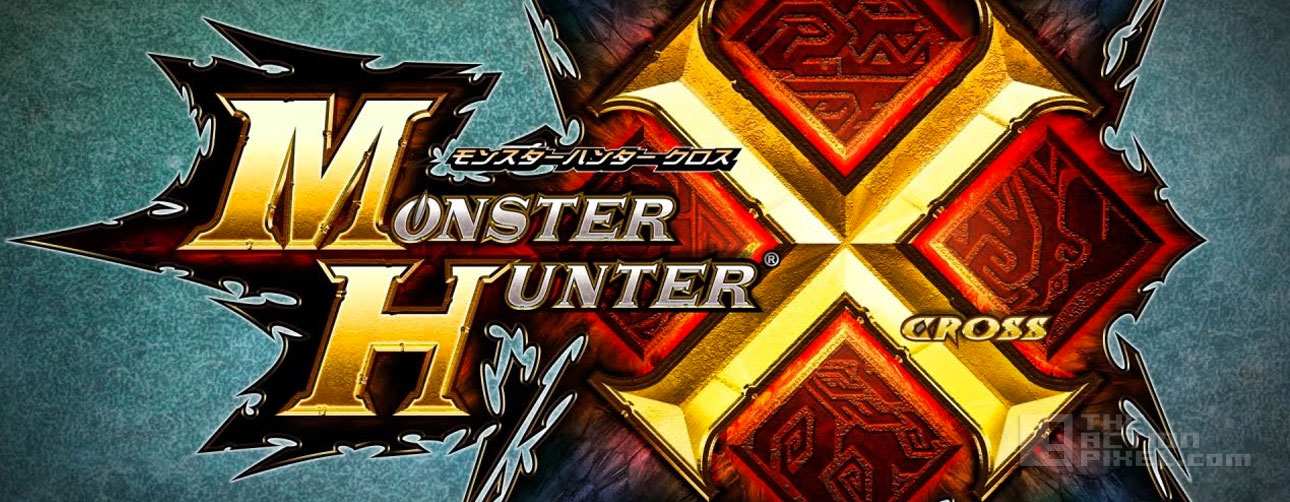 monster hunter cross. capcom. the action pixel. @theactionpixel