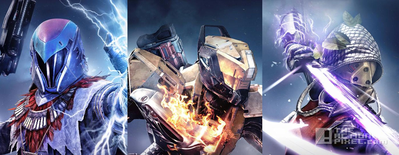 destiny: the taken king. the action pixel. @theactionpixel. bungie.