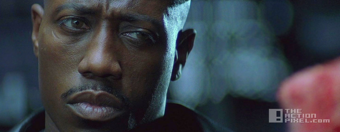 blade wesley snipes. the action pixel. marvel @theactionpixel