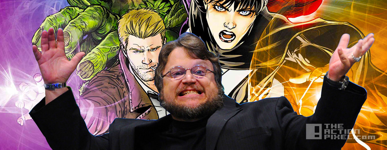 guillermo del toro leaves justice league dark. dc comics. the action pixel. entertainment on tap. @theactionpixel