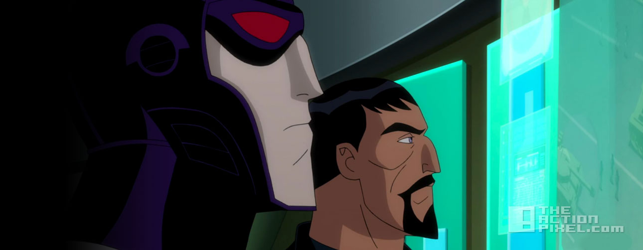 justice league gods and monsters. dc comics. the action pixel. wb animation. @theactionpixel