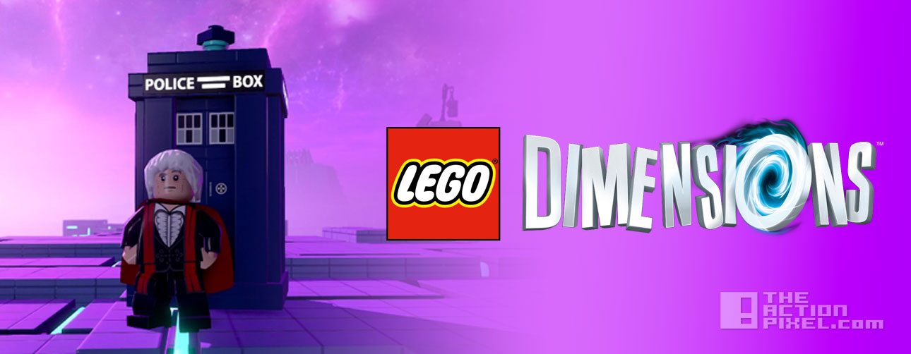 lego dimensions Dr Who trailer. the action pixel. @theactionpixel
