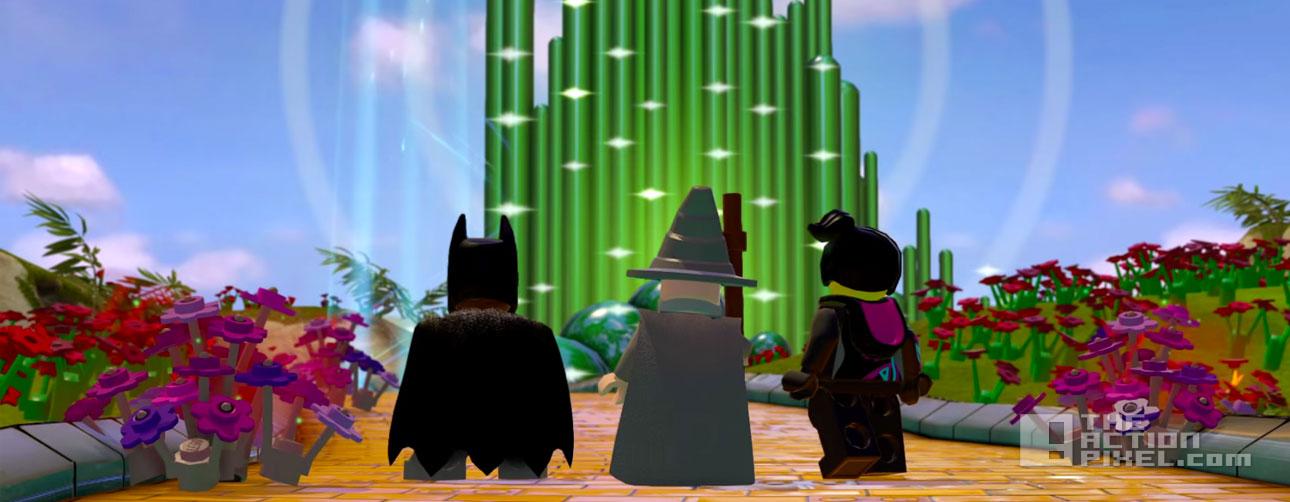 lego dimensions. oz, batman, gandalf. the action pixel. @theactionpixel. lego. dc comics
