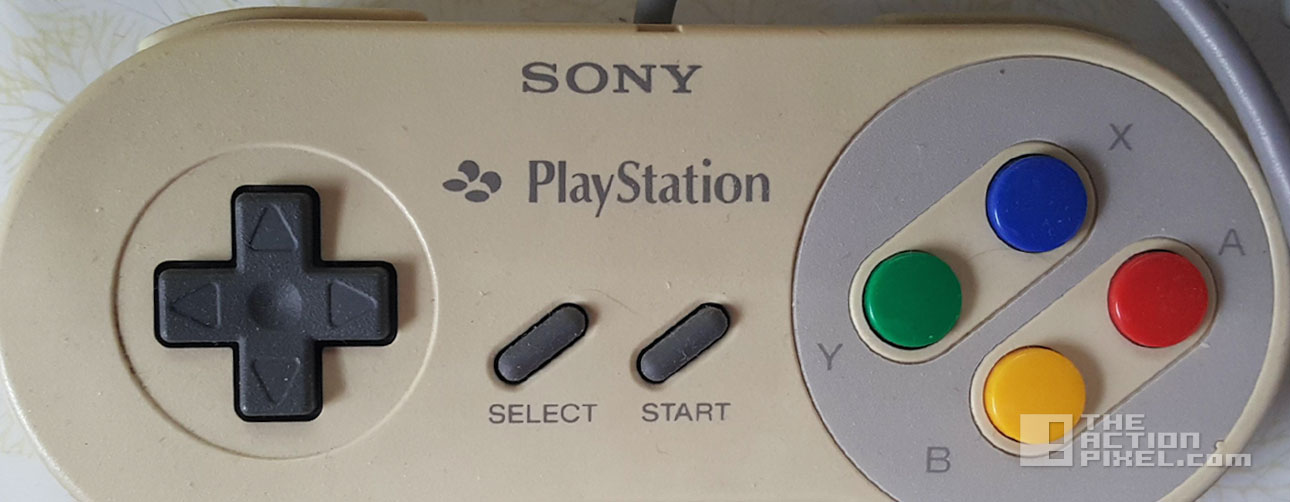 nintnedo and playstation rare console prototype. the action pixel. @theactionpixel