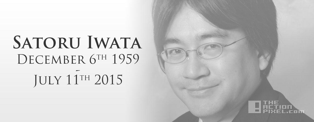 satoru iwata. dead. nintendo. the action pixel. @theactionpixel