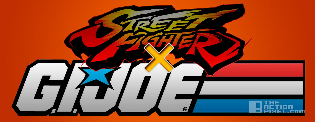 Street Fighter X GI Joe. the action pixel. @theactionpixel. hasbro. capcom
