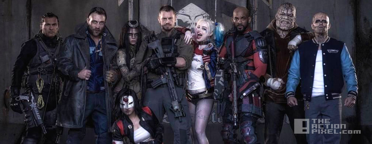 suicide Squad. WB. Dc comics. the action pixel. @theactionpixel.