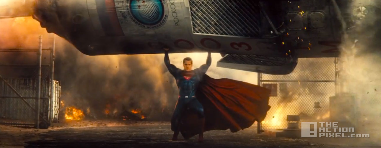 supermanrocket batman v superman: dawn of justice. the action pixel. @theactionpixel