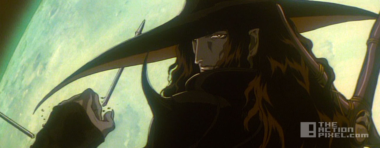vampire hunter D: bloodlust. Hideyuki Kikuchi. the action pixel. @theactionpixel