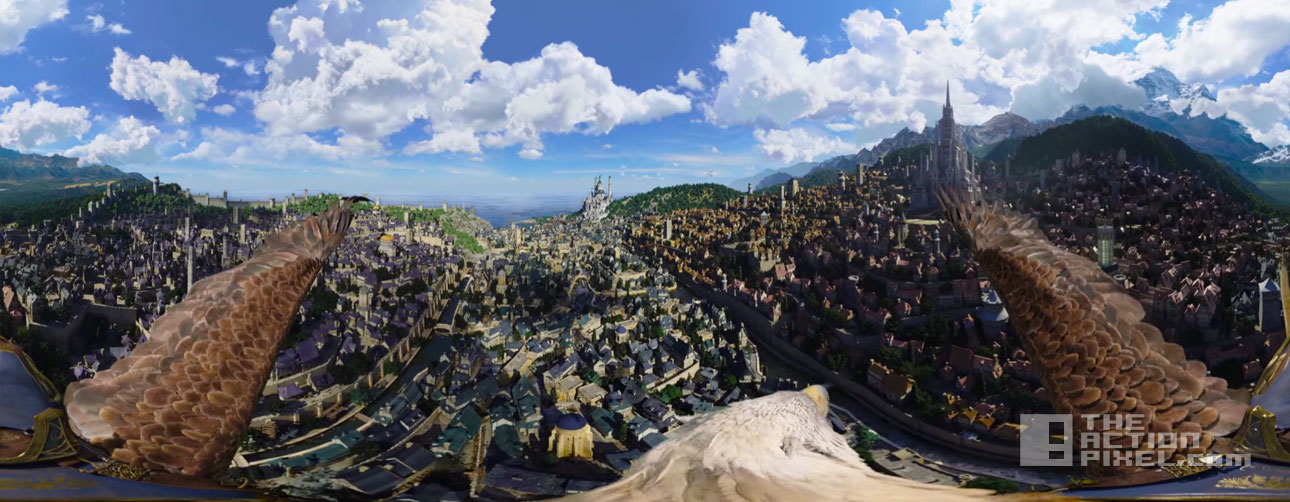 warcraft skies Of Azeroth. the action pixel. @theactionpixel