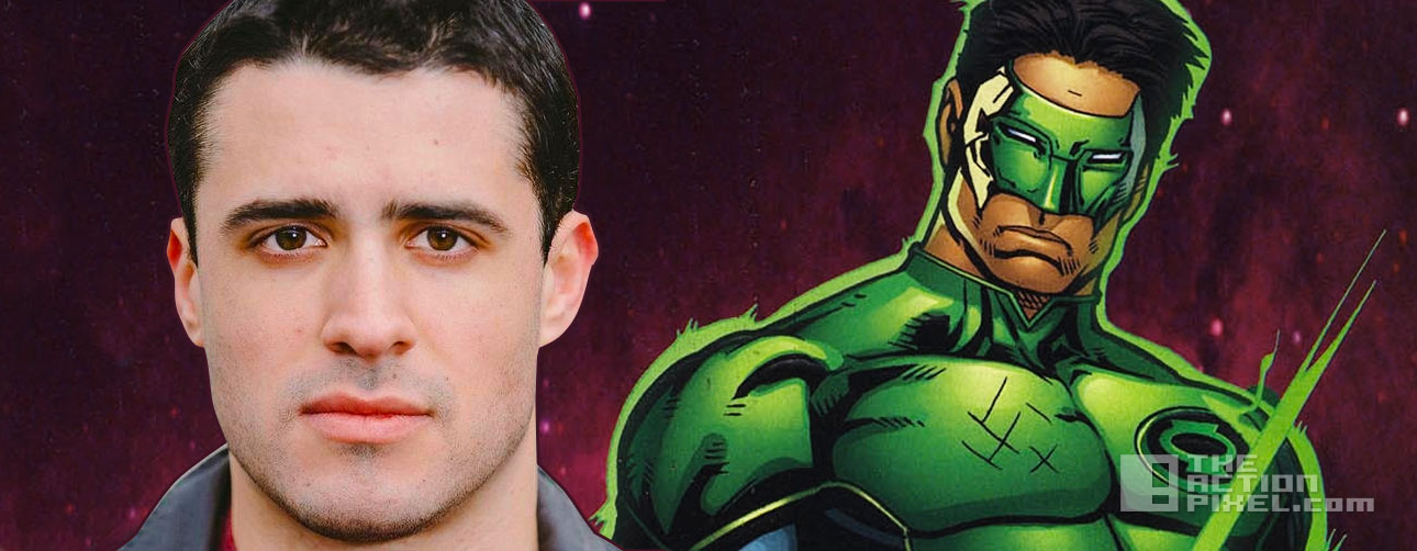 Ricardo Segarra for Green Lantern Kyle Rayner? dc comics. the action pixel. @theactionpixel