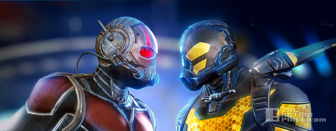ant- man yellowjacket contest of champions. the action pixel. @theactionpixel. marvel. kabam!
