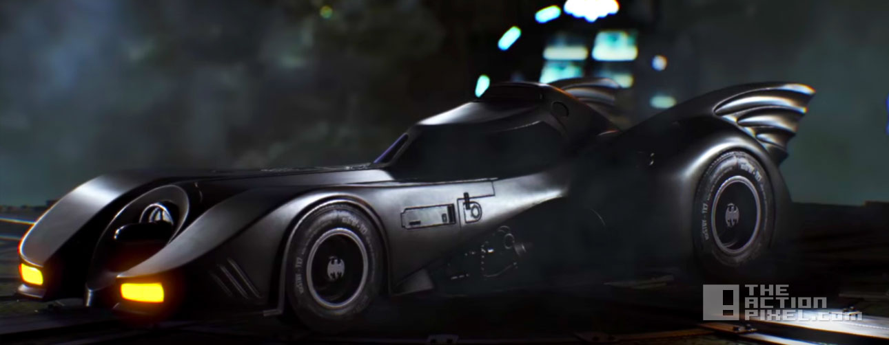 batmobile 1989. batman arkham knight, wb games, rocksteady, dc comics. the action pixel. @theactionpixel