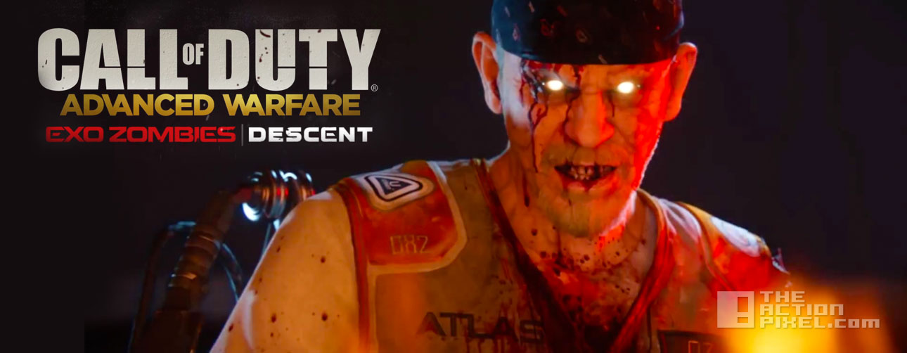 call of duty: Advanced Warfare. Exo-zombies Descent. the action pixel. sledgehammer games. @theactionpixel