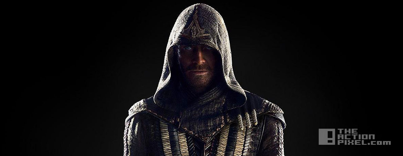 michael fassbender. assassin's creed. ubisoft. the action pixel. callum lynch. @theactionpixel