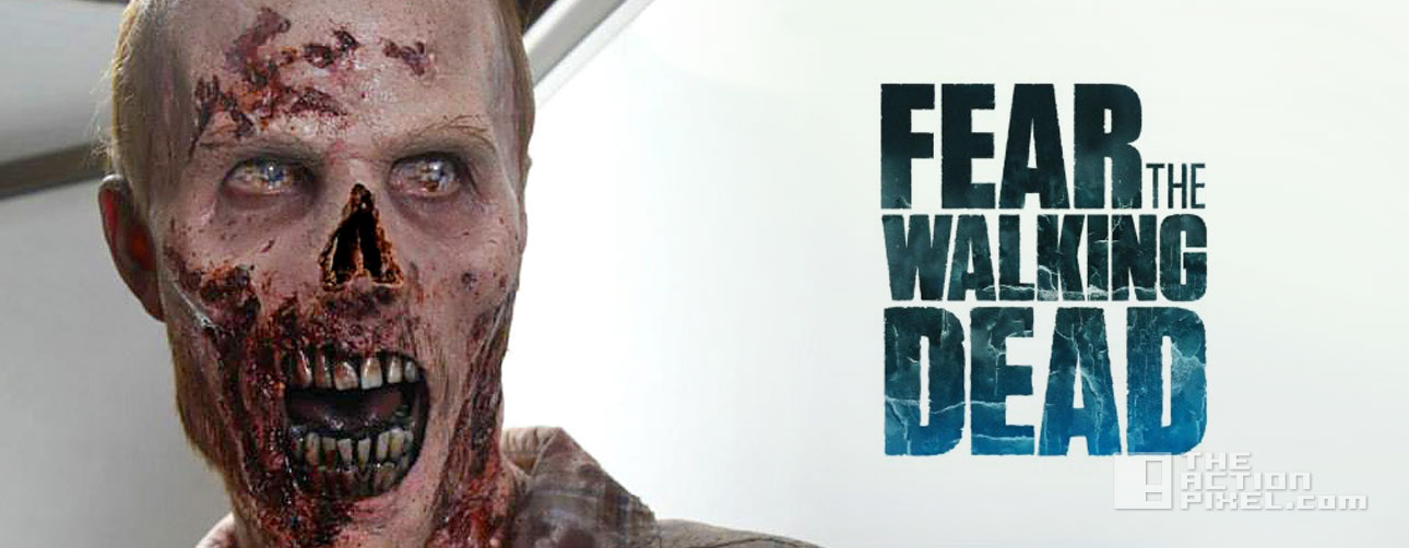 Fear the walking dead. zombie. the action pixel. @theactionpixel. AMC.