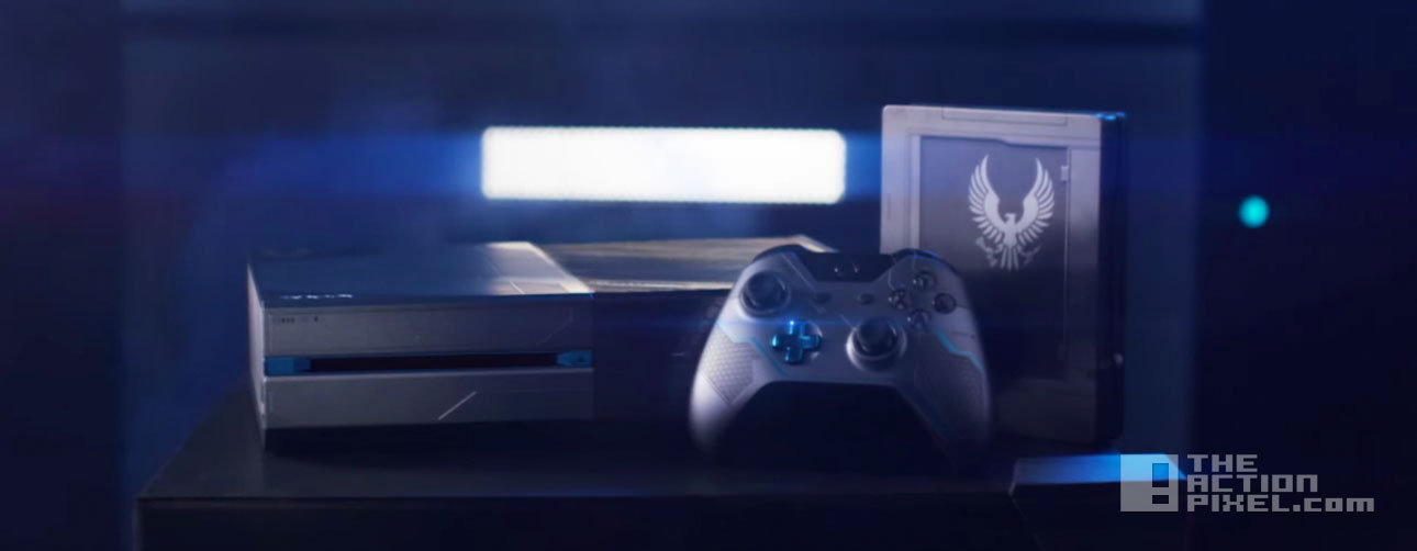 halo 5: guardians console Xbox. 343 industries. microsoft. the action pixel. @theactionpixel