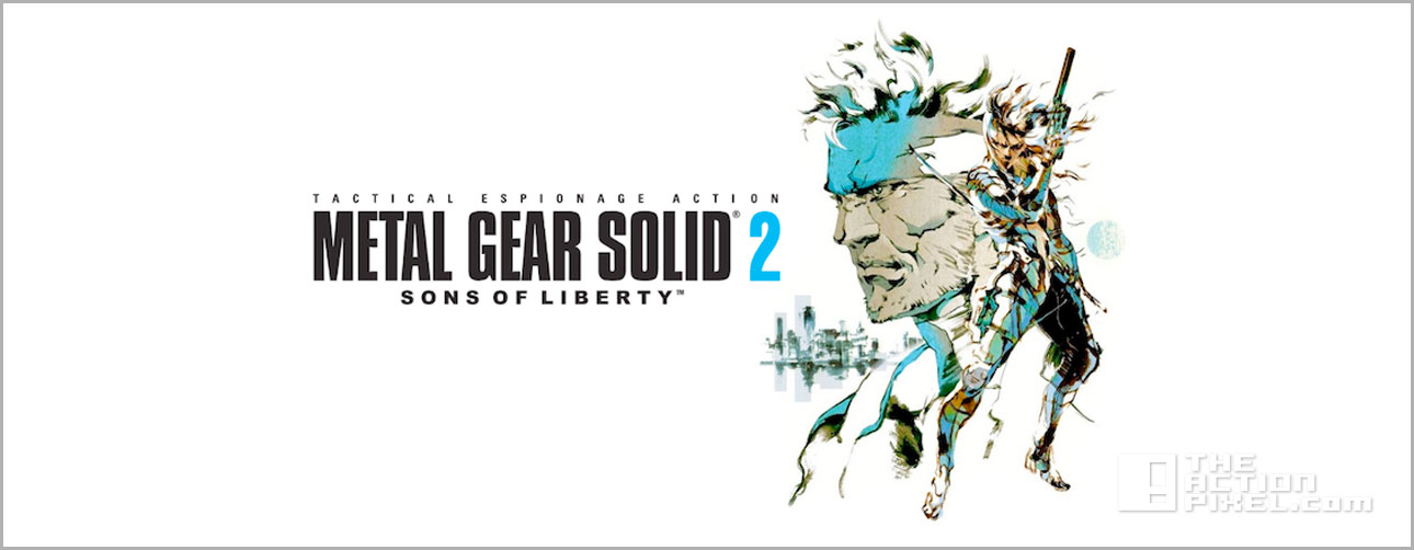 metal gear solid 2 sons of liberty. konami. @theactionpixel. @theactionpixel