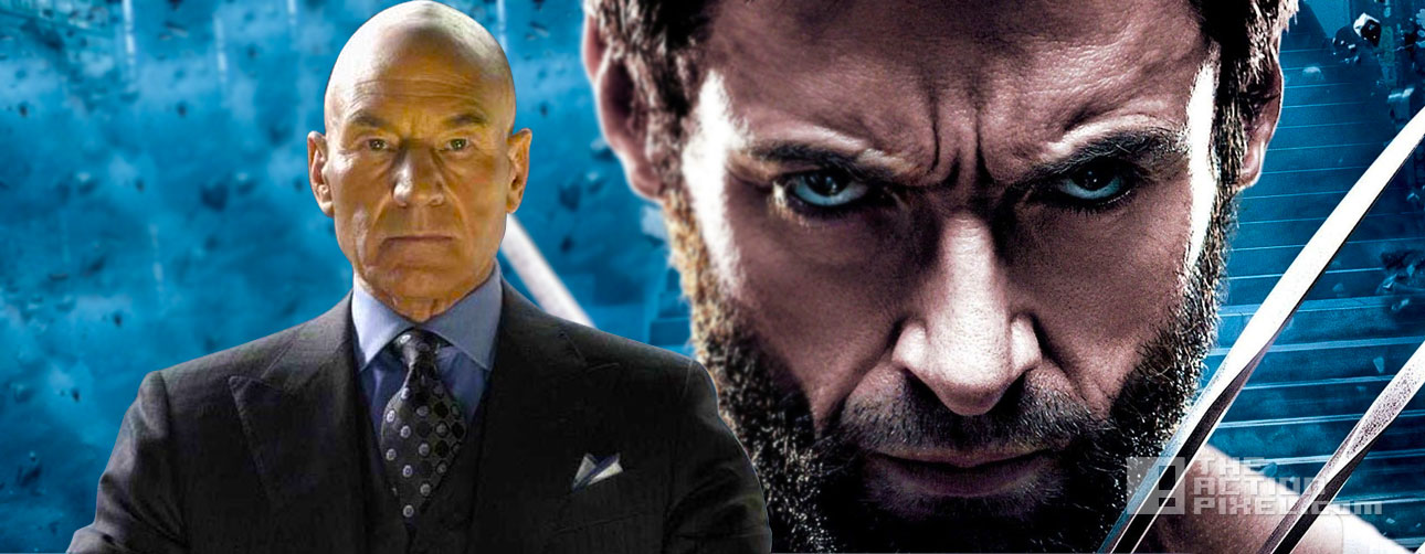 patrick stewart professor x wolverine 3. marvel. 20th century fox. the action pixel. @theactionpixel
