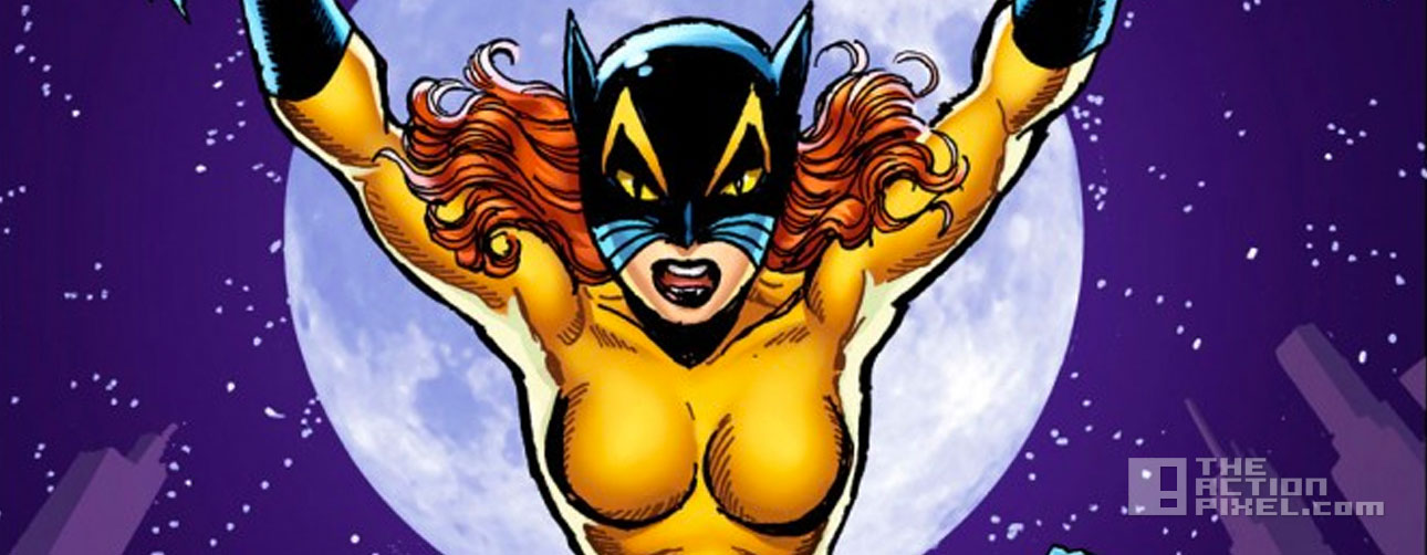 Patsy Walker, a.k.a. HellCat. marvel. the action pixel. @theactionpixel