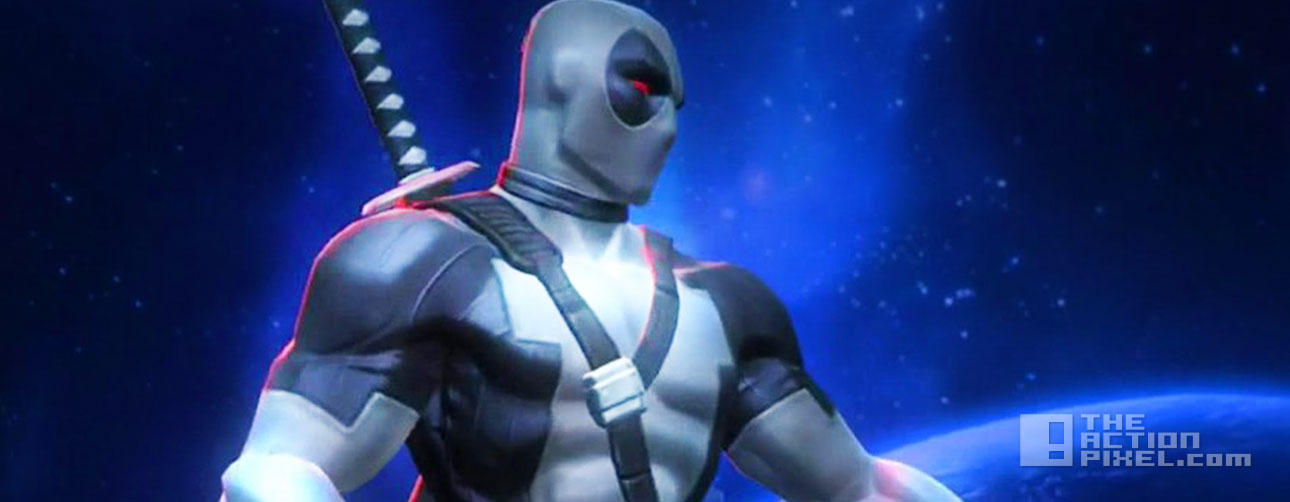 deadpool. x force. marvel Contest Of Champions. the action pixel. @theactionpixel