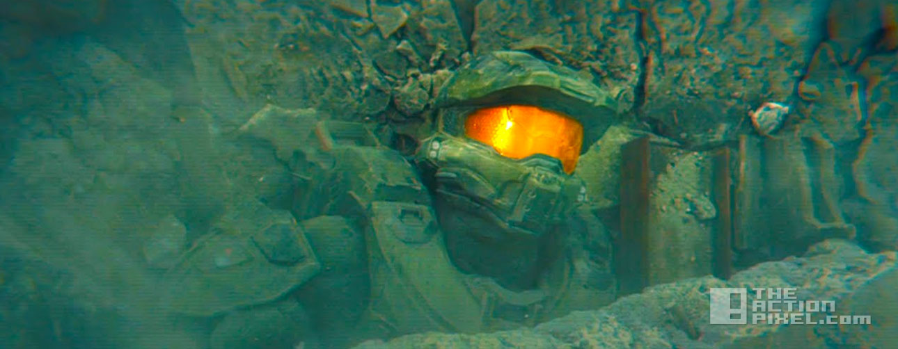 halo 5: guardians a hero falls. the action pixel. @thectionpixel 343 industries