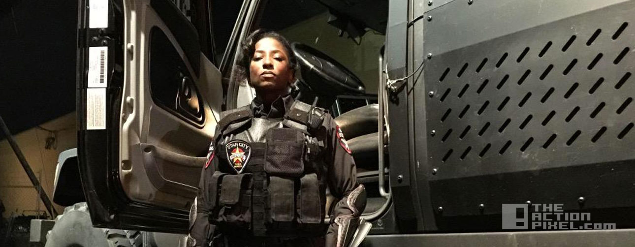 lady cop. rutina wesley. arrow. the cw. the action pixel