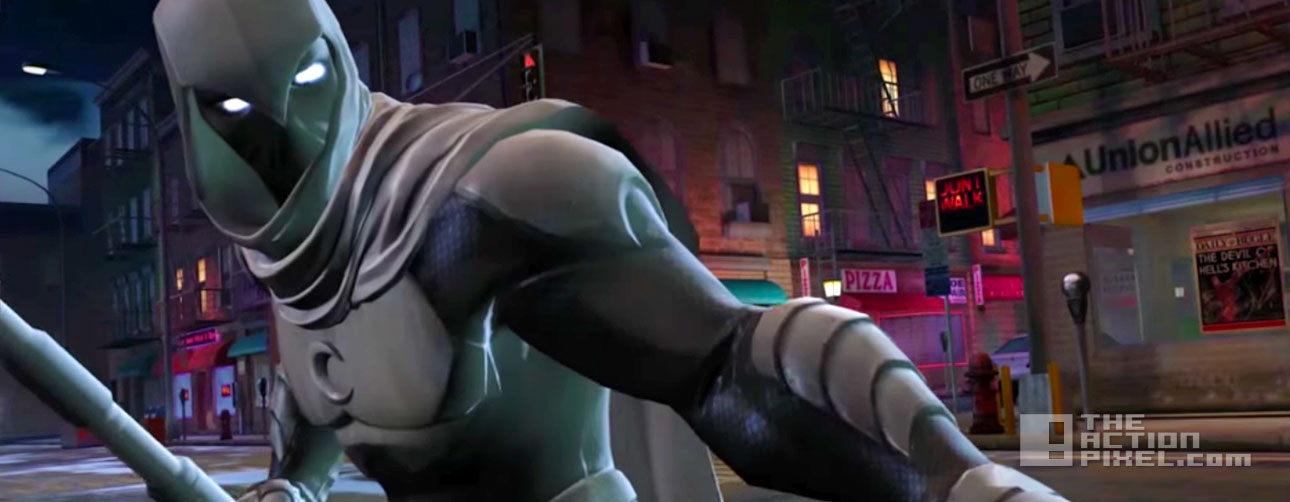 marvel. Contest Of Champions. moon knight. kabam. the action pixel. @theactionpixel