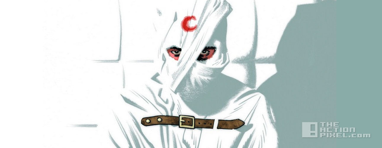 moon knight cover. the action pixel. @theactionpixel. Marvel.