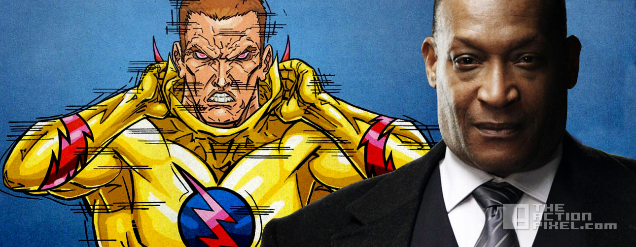 tony todd to voice zoom. the flash. season 2. the cw. the action pixel. @theactionpixel