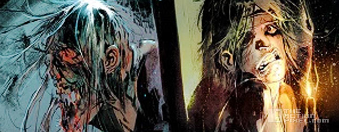 walking dead #1 variant. skybound. image comics. the action pixel. @theactionpixel