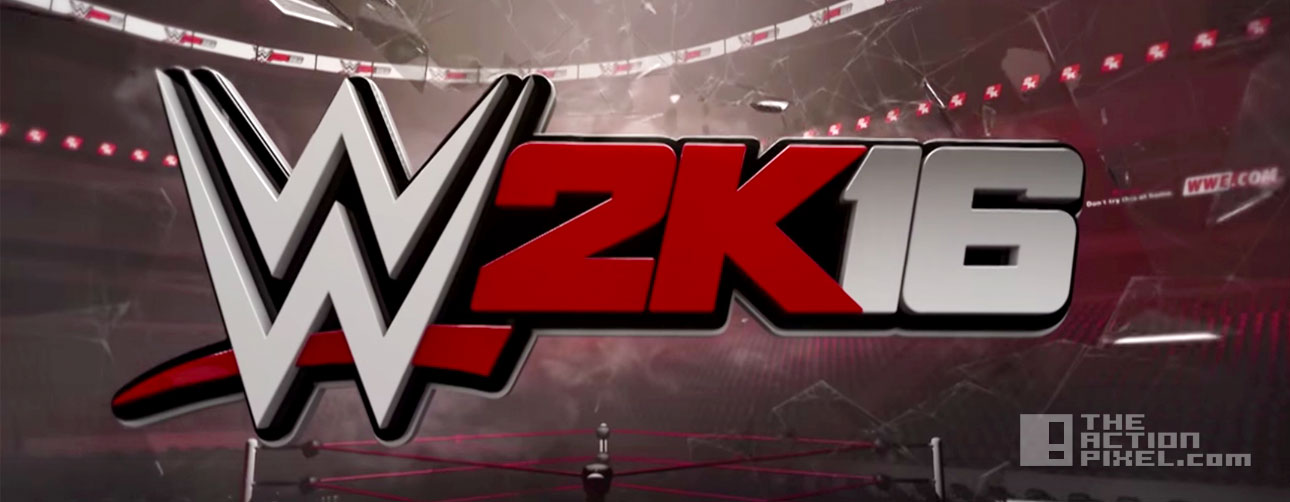wwe 2k16. 2k games. the action pixel. @theactionpixel