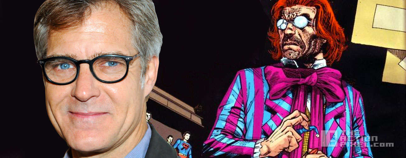 henry czerny. toyman. supergirl. cbs. dc comics. the action pixel. @theactionpixel