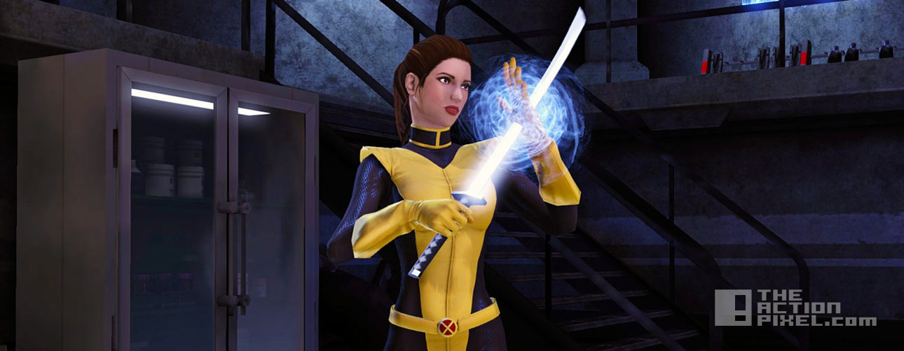 kitty pryde astonishing costume. the action pixel. @theactionpixel