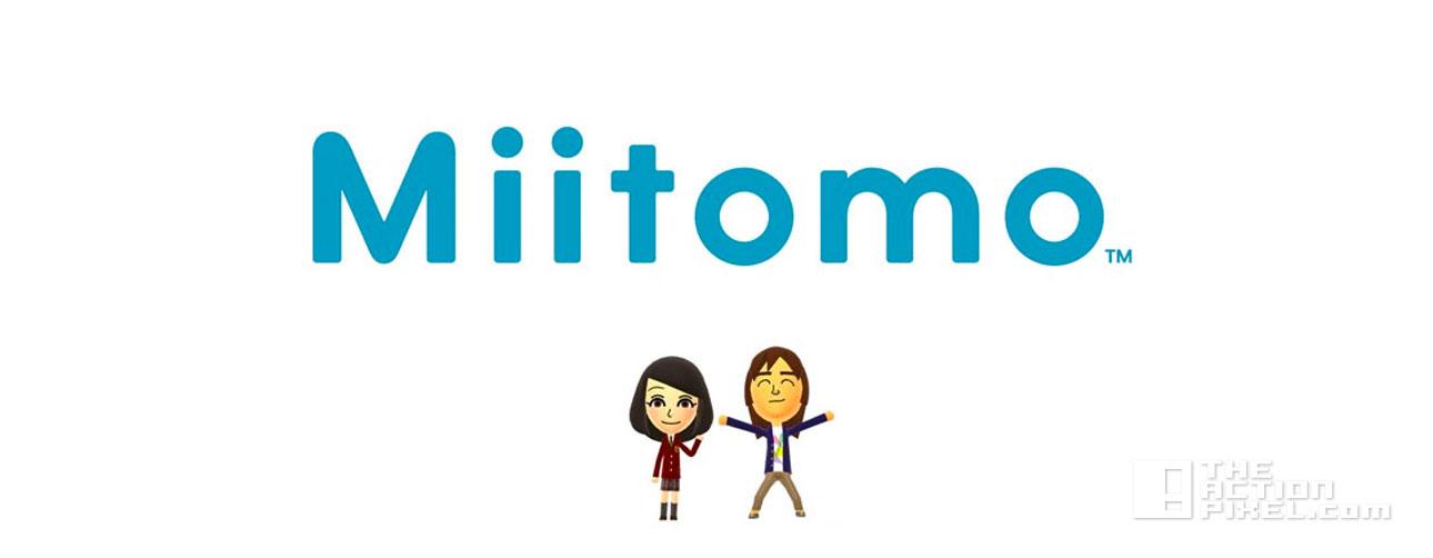 miitomo. nintendo. the action pixel. @theactionpixel