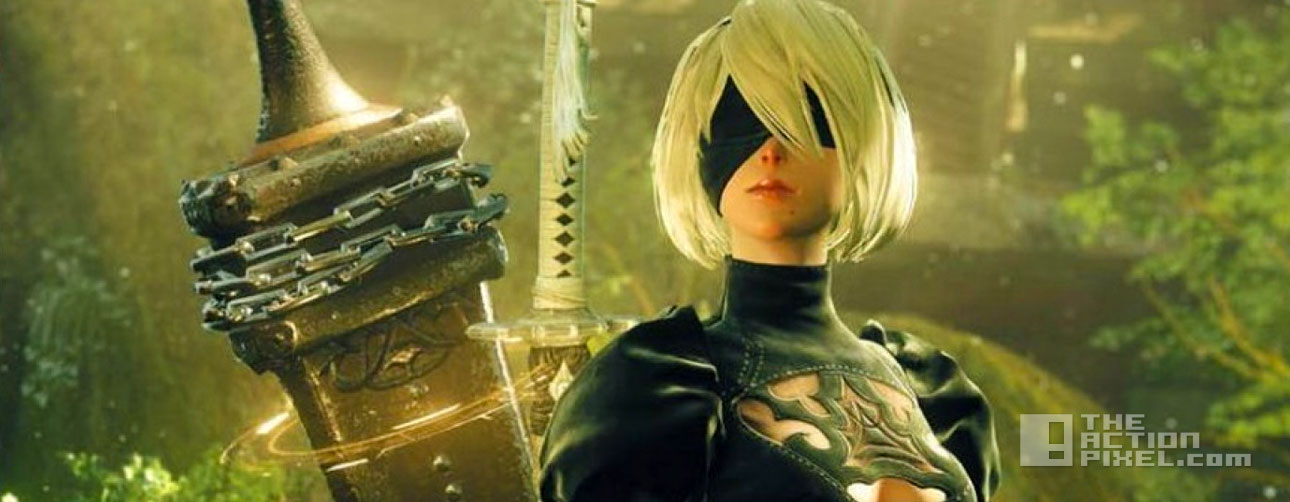 nier automata. square enix. platinum games. the action pixel. @theactionpixel
