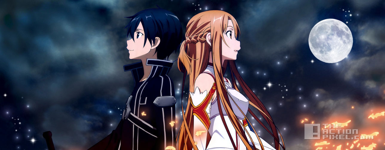 sword art online. the action pixel. @theactionpixel