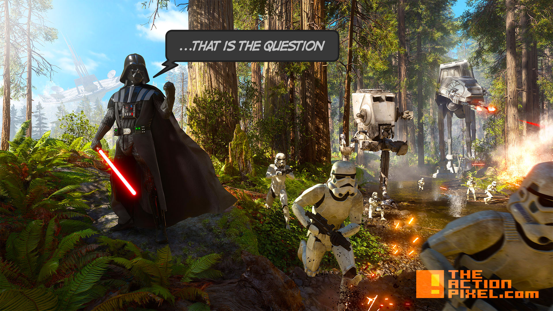 star wars battlefront. ea. the action pixel. @theactionpixel. dice games.