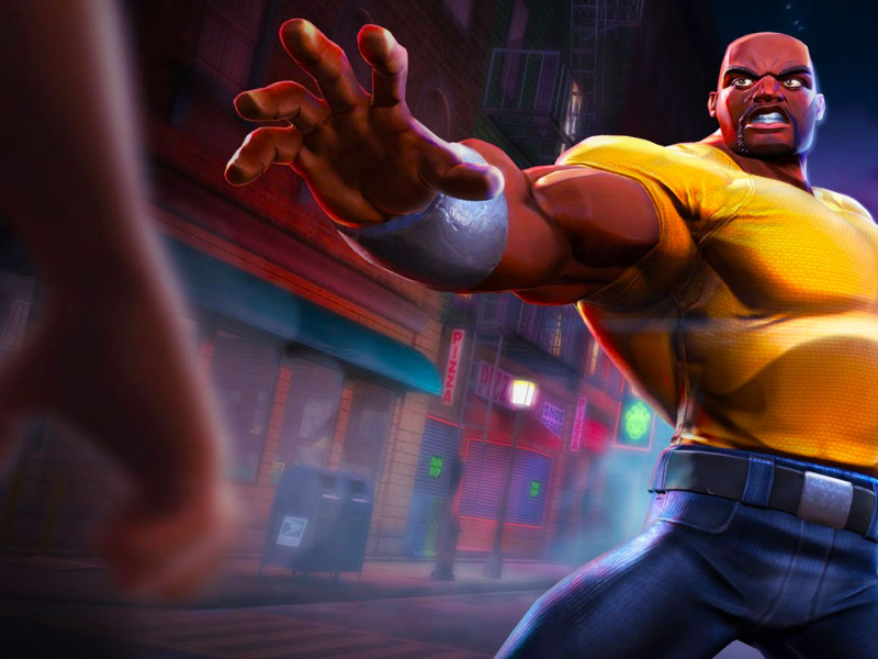 contest of champions. luke cage. kabam!. marvel. the action pixel. @theactionpixel