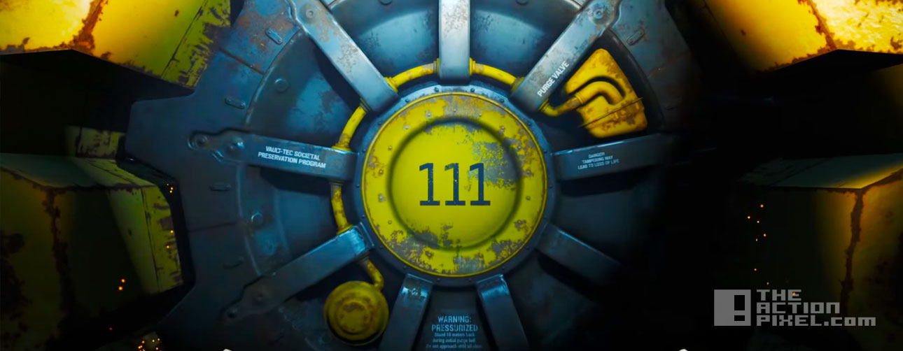 fallout 4 launch trailer. bethesda. the action pixel. entertainment on tap. @theactionpixel