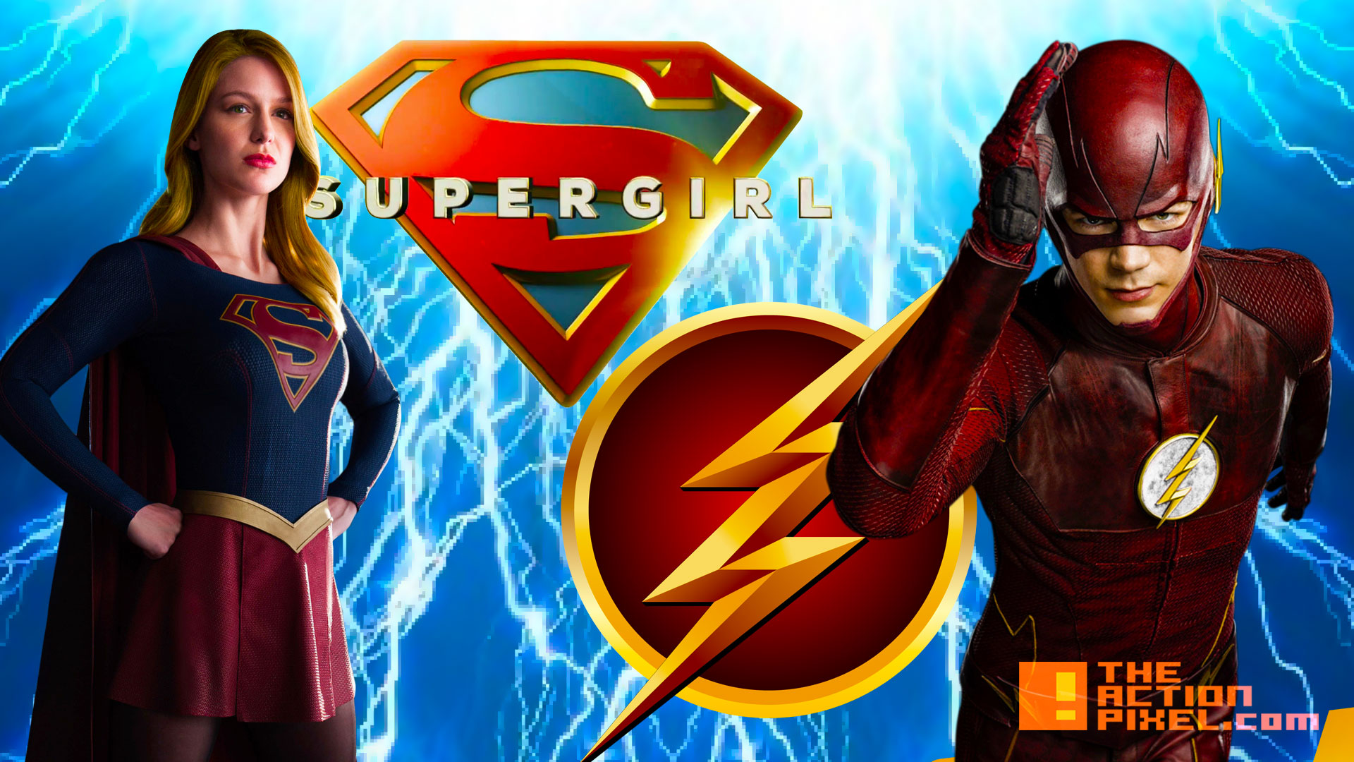 flash. supergirl. cw. cbs. the action pixel @theactionpixel
