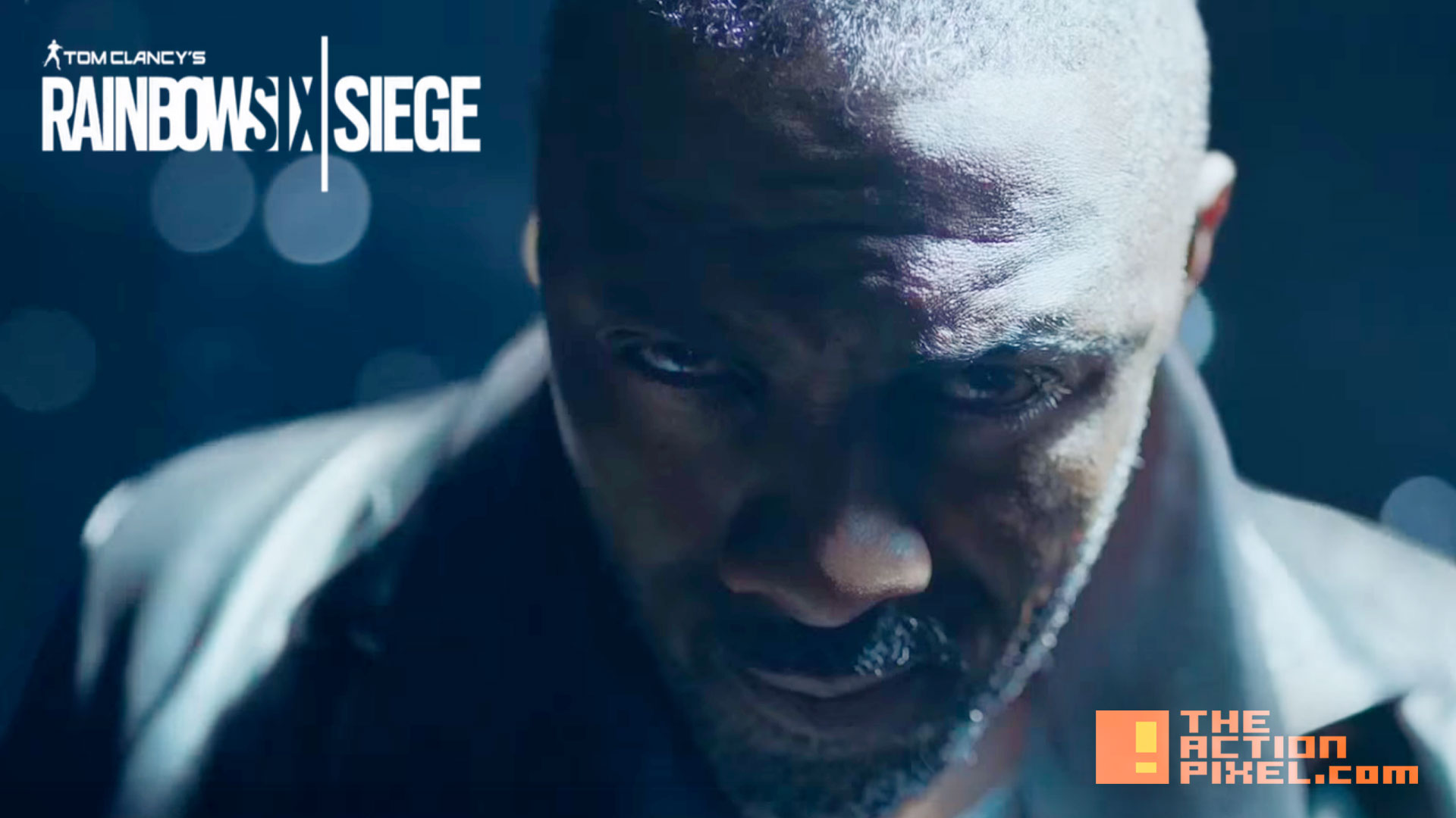 idris elba. tom clancy's rainbow six siege. the action pixel. @theactionpixel. ubisoft